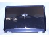 obrázek LCD cover (zadní plastový kryt LCD) pro MSI GT683